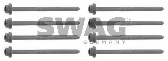 Комплект болтов головки блока цилиндров (ГБЦ) SWAG 30 92 6434