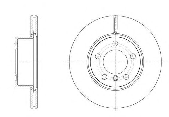Тормозной диск REMSA 61449.10