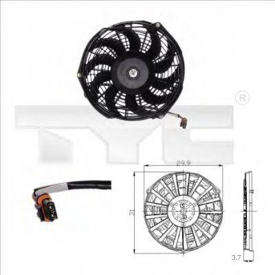 Вентилятор охлаждения TYC 825-0005