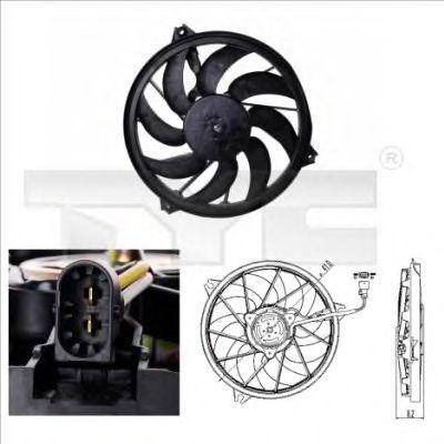 Вентилятор охлаждения TYC 826-0003