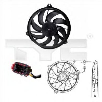 Вентилятор охлаждения TYC 826-0005