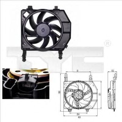 Вентилятор охлаждения TYC 810-0022
