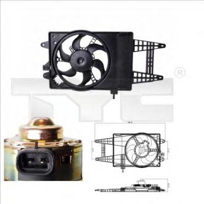 Вентилятор охлаждения TYC 809-0004