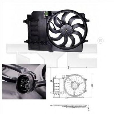 Вентилятор охлаждения TYC 803-0001