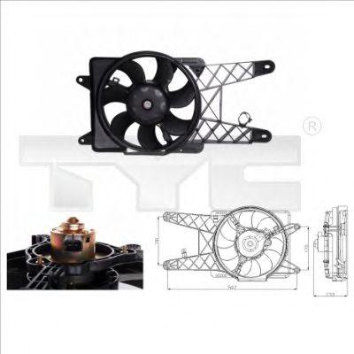 Вентилятор охлаждения TYC 809-0012