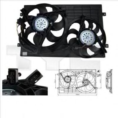 Вентилятор охлаждения TYC 832-0001