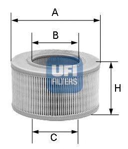 Воздушный фильтр UFI 30.118.01