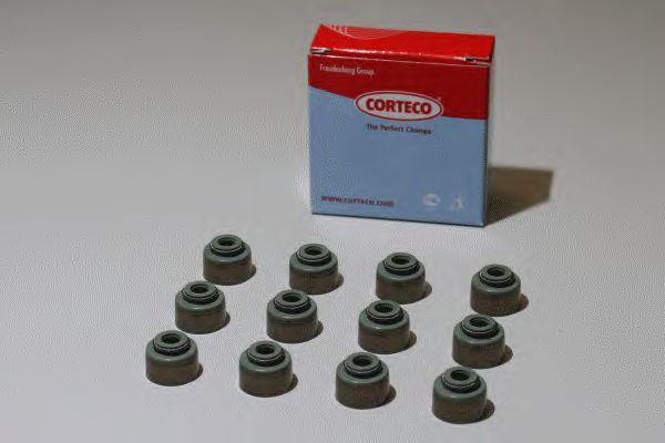 Комплект сальников клапанов CORTECO 19036037