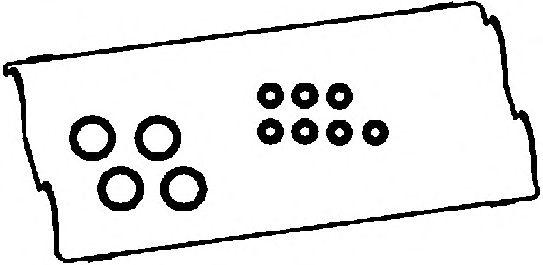 Прокладка клапанной крышки CORTECO 440162P