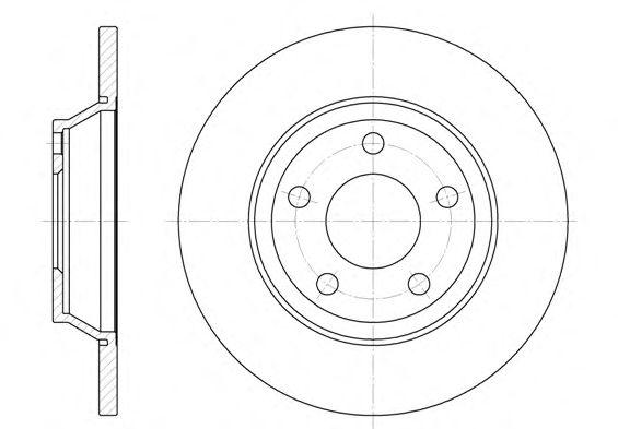Тормозной диск REMSA 6472.00