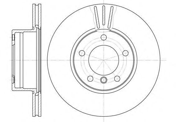 Тормозной диск REMSA 6514.10