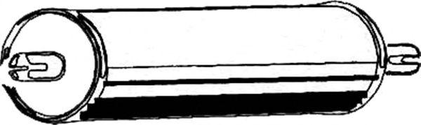Глушитель ASMET 02.005