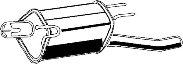 Глушитель ASMET 05.056