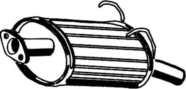 Глушитель ASMET 13.019