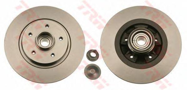 Тормозной диск TRW DF6043BS