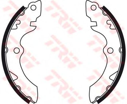 Тормозные колодки ручника TRW GS8735