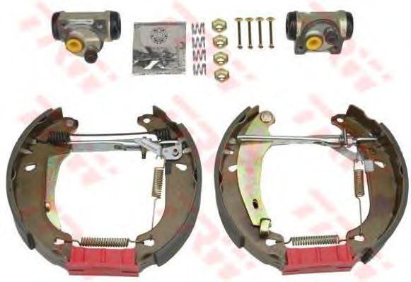 Тормозные колодки TRW GSK1026