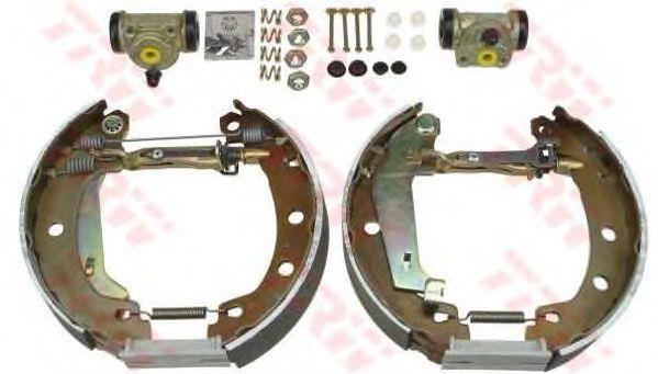 Тормозные колодки TRW GSK1060