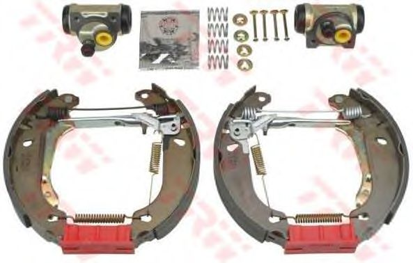 Тормозные колодки TRW GSK1260