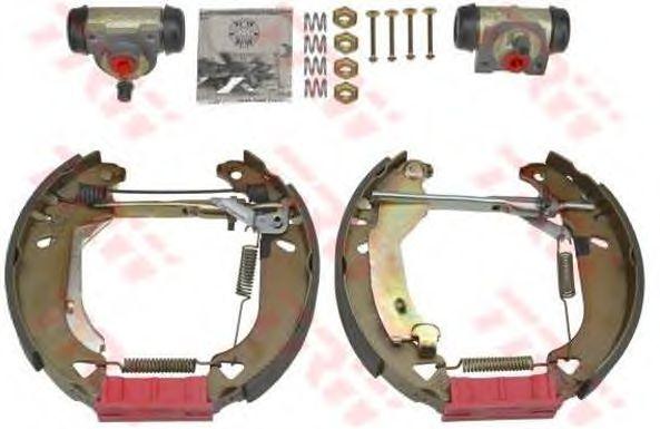Тормозные колодки TRW GSK1727