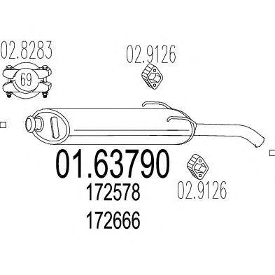 Глушитель MTS 01.63790