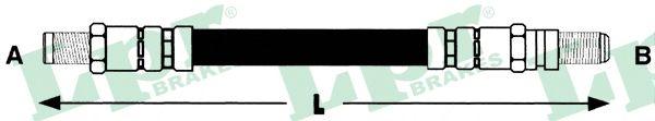 Тормозной шланг LPR 6T46655