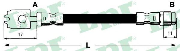 Тормозной шланг LPR 6T46742