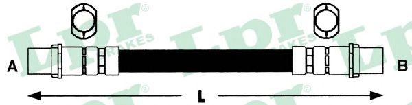 Тормозной шланг LPR 6T46585