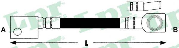 Тормозной шланг LPR 6T46153