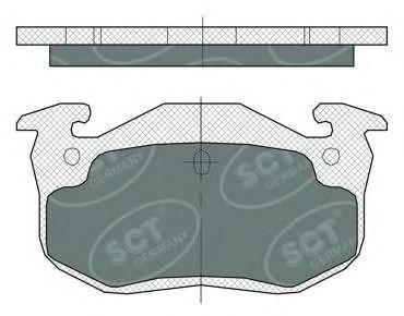Тормозные колодки SCT Germany SP 385