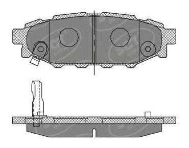 Тормозные колодки SCT Germany SP 395