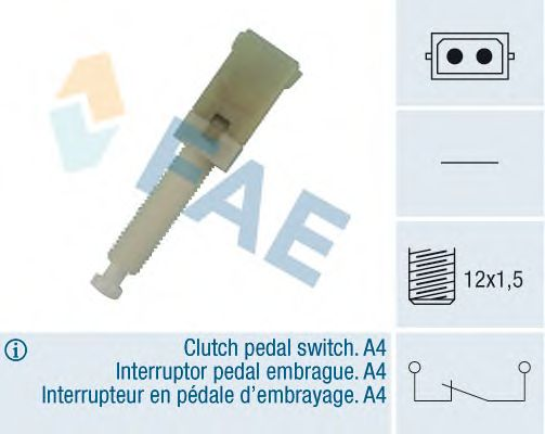 Выключатель фонаря сигнала торможения FAE 24560