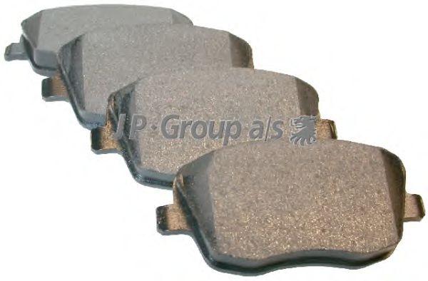 Тормозные колодки JP GROUP 1163603010
