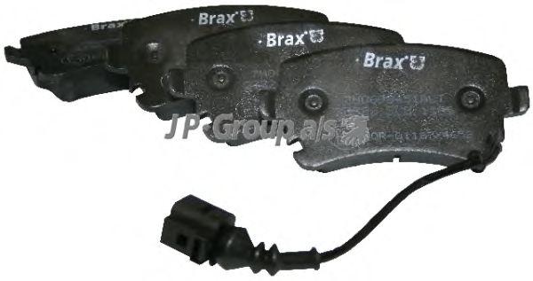 Тормозные колодки JP GROUP 1163706210