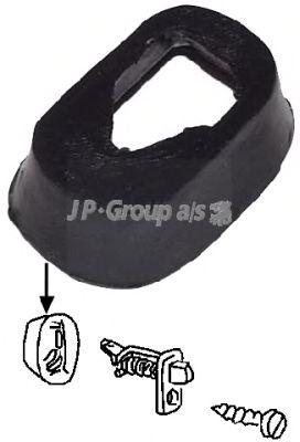 Прокладка, страховочная подсветка двери JP GROUP 8196550106