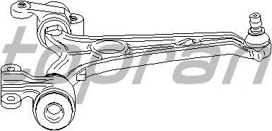 Рычаг подвески TOPRAN 722 651