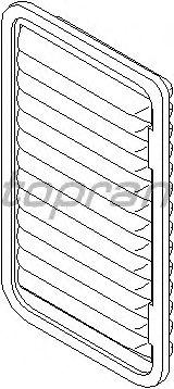 Воздушный фильтр TOPRAN 207 723