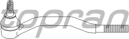 Наконечник рулевой тяги TOPRAN 205 218