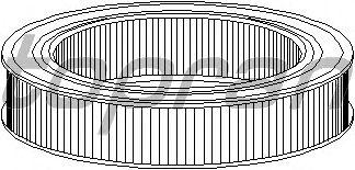 Воздушный фильтр TOPRAN 201 655
