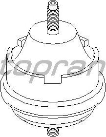 Подушка двигателя TOPRAN 720 379