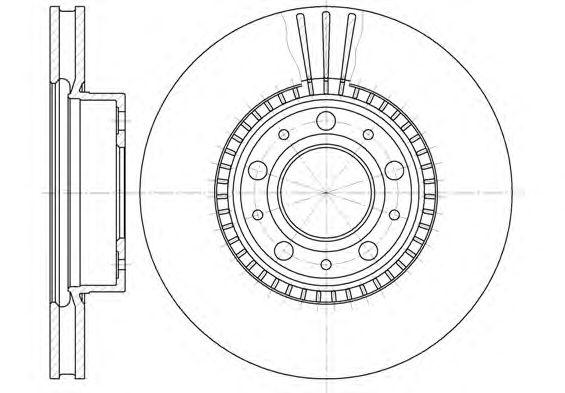 Тормозной диск REMSA 6304.10