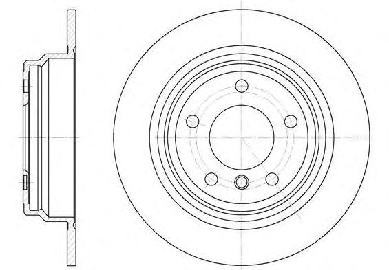Тормозной диск REMSA 6554.00