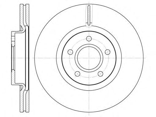 Тормозной диск REMSA 6711.10
