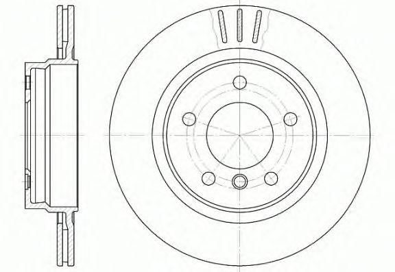 Тормозной диск REMSA 6722.10