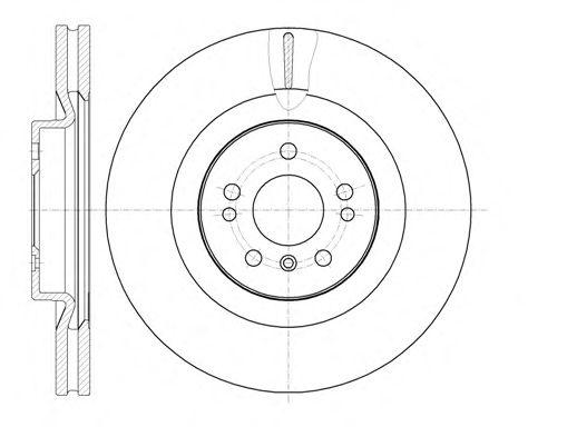 Тормозной диск REMSA 61030.10