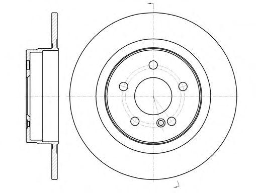 Тормозной диск REMSA 61070.00