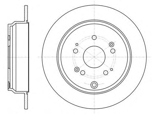 Тормозной диск REMSA 61174.00