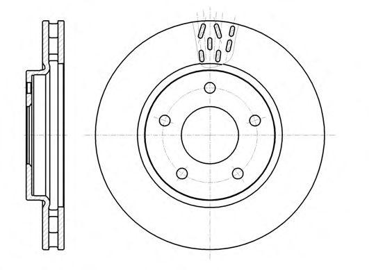 Тормозной диск REMSA 61291.10