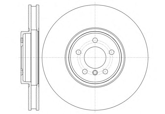 Тормозной диск REMSA 61333.10