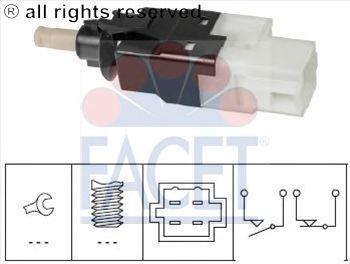 Выключатель фонаря сигнала торможения FACET 7.1252